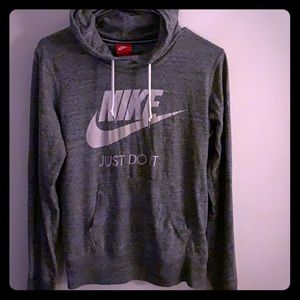 NIKE Hooded Long sleeve top Size M
